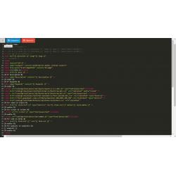 Кнопка на весь экран для редактора шаблона / Fullscreen btn ..